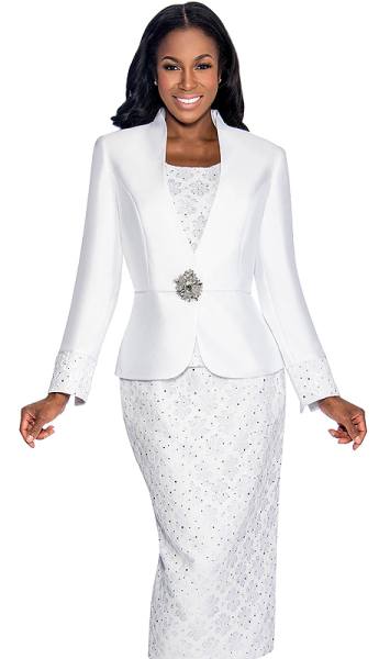 Size 18w white dress suits